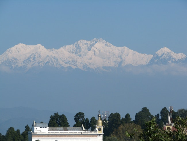The View In Darjeeling