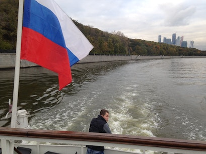 Moscow River Boat Tour Moscow  Russia