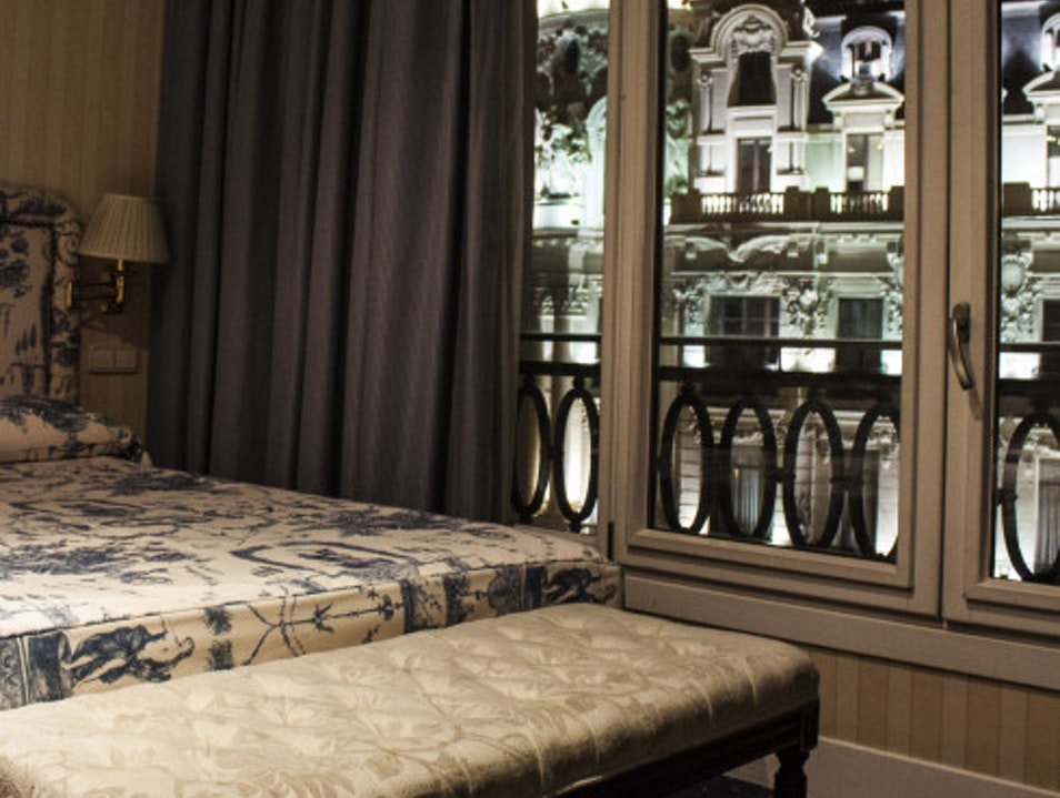 A classic hotel in Madrid Madrid  Spain