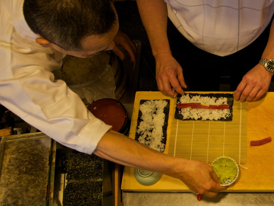 Learn to Roll With A Sushi Master Chūō Ku  Japan