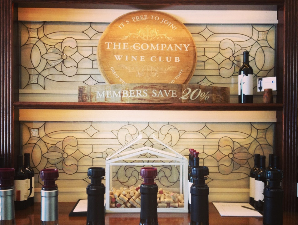 A Wine Bar in Small Town Wine Country
