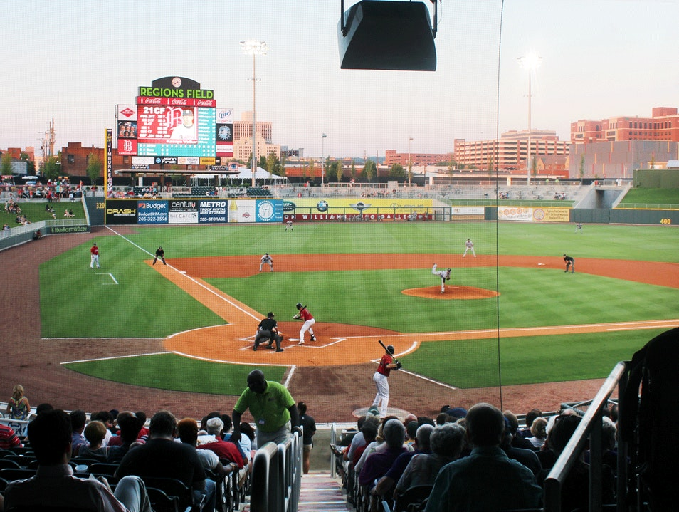 Region's Field, home of the Birmingham Barons Birmingham Alabama United States