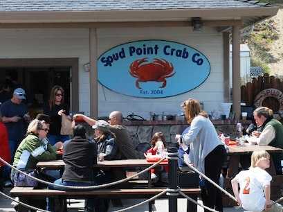 Spud Point Marina Crab Co. Bodega Bay California United States
