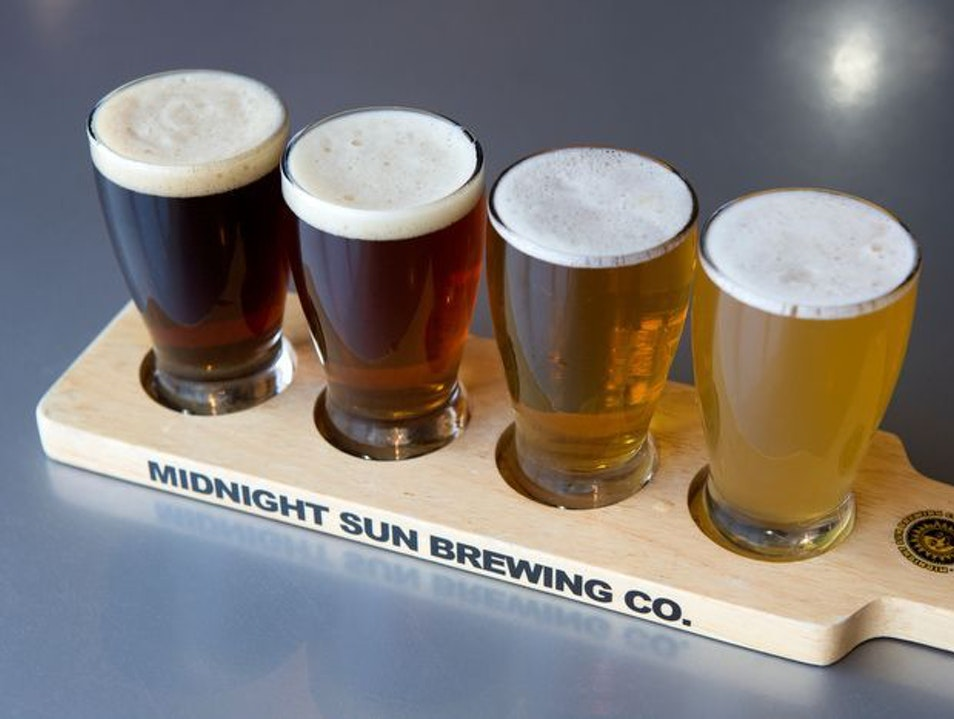 Great Local Brews in Anchorage Anchorage Alaska United States