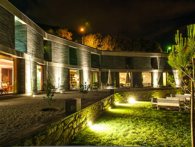 Luxury wine hotel and cellar in the Douro Valley