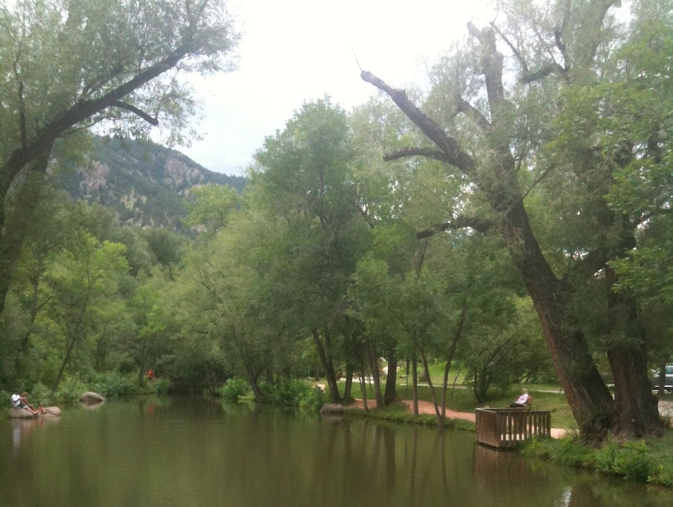 Along the River Boulder Colorado United States