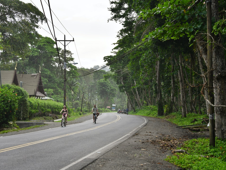 Cycling in Vibrant Puerto Viejo   Earth