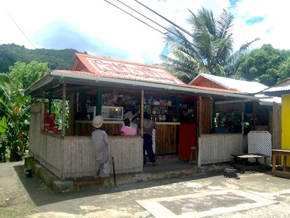 Nick's Spotlight Bar, Dominica Delices  Dominica