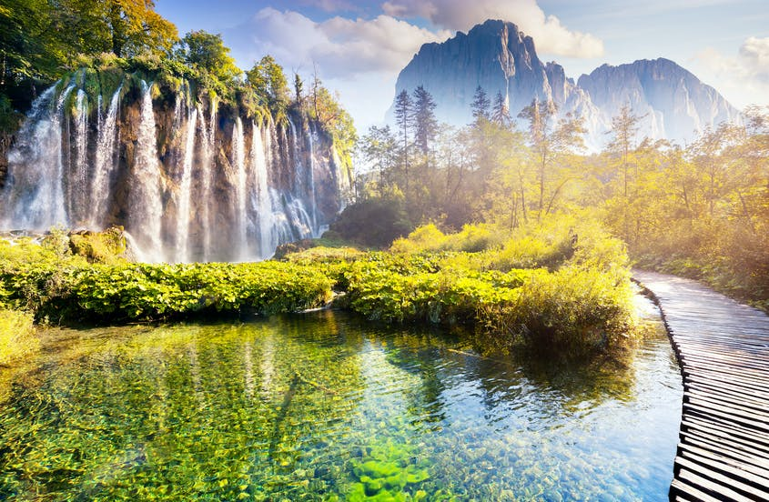 Come for the coastline, stay for Croatia's Plitvice Lakes National Park, a UNESCO World Heritage site.
