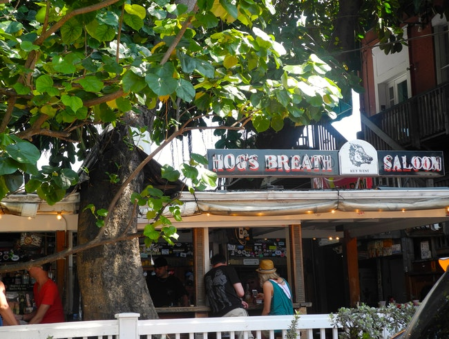 The Hog's Breath Saloon