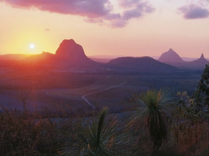 Glass House Mountains Glass House Mountains  Australia