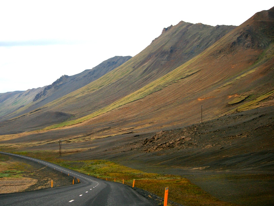 Driving Through Eastern Iceland
