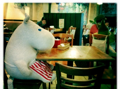 Moomin Bakery and Cafe (ムーミンベーカリー&カフェ 東京ドームシティ ラクーア店)) Tokyo  Japan