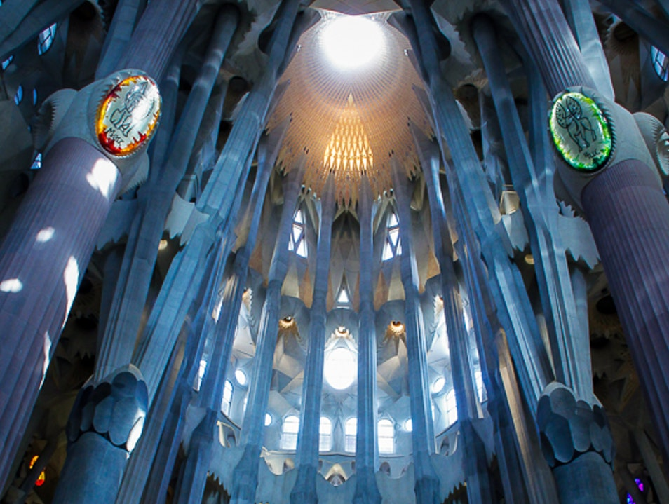 Photo tour of Sagrada Familia Barcelona  Spain