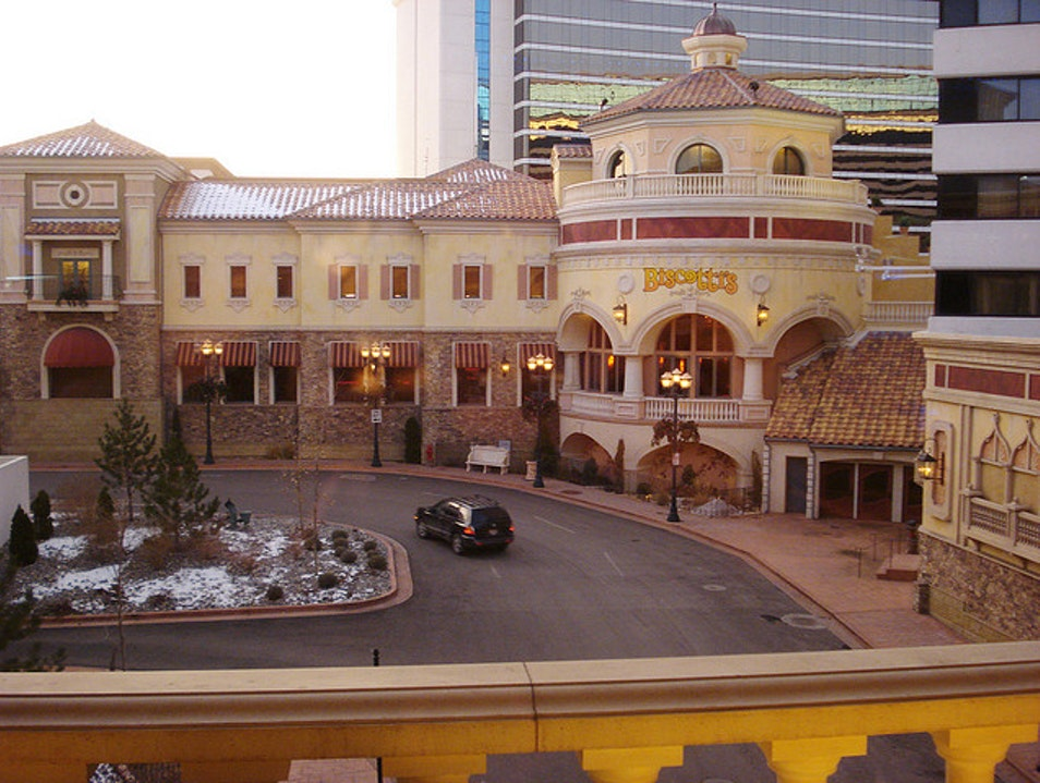 The Peppermill Shakes Things Up Reno Nevada United States
