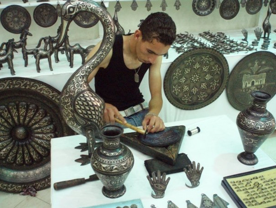 The Great Silversmiths of Morocco Meknes  Morocco