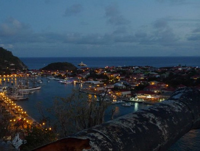 Harbor View on Gustavia
