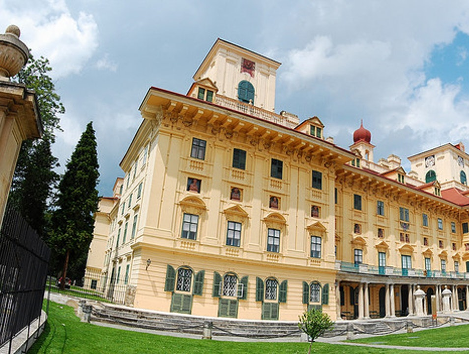 Tour the grand Esterházy Palace Eisenstadt  Austria