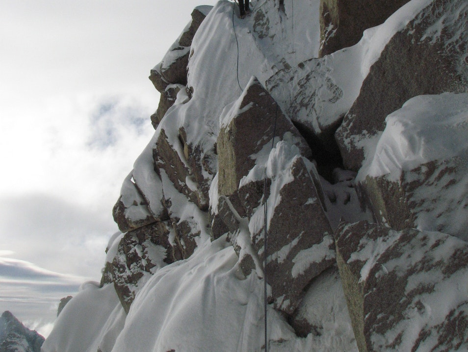 Test Your Terrain Skills at Cosmiques Arete Chamonix Mont Blanc  France