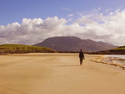 Deserted Beach Mayo  Ireland