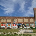Lincoln Street Art Park Detroit Michigan United States