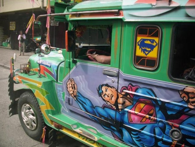 Superman Jeepney