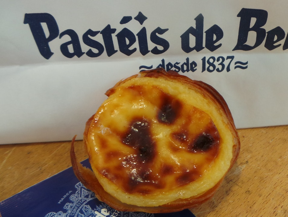 The best 'nata' in the area Lisboa  Portugal