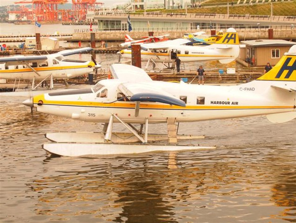 Must Experience: Riding in a Seaplane from Vancouver to Victoria Vancouver  Canada