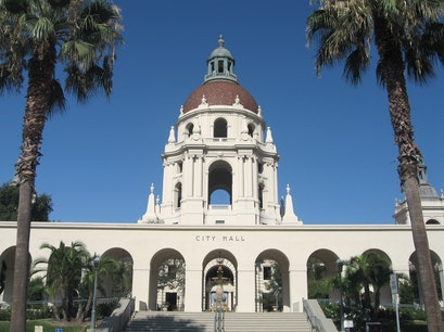 City of Pasadena: City Hall Pasadena California United States