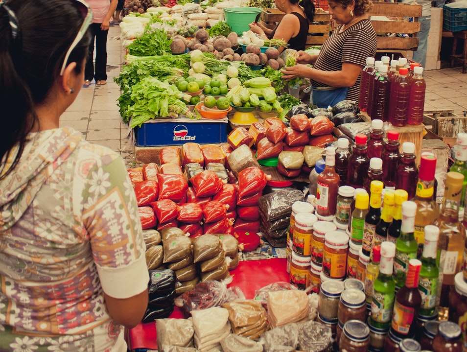 An Afternoon in the Market Merida  Mexico