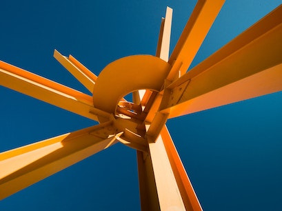 The Calling by Mark di Suvero Milwaukee Wisconsin United States