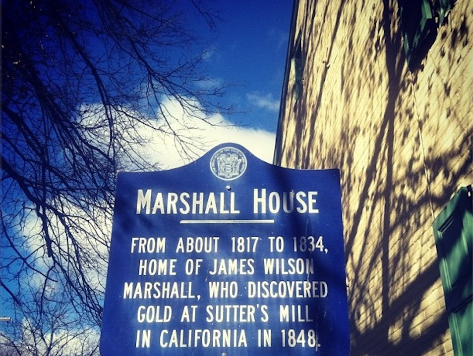 Home of James Marshall (who Started the California Gold Rush) Mont Clare Pennsylvania United States
