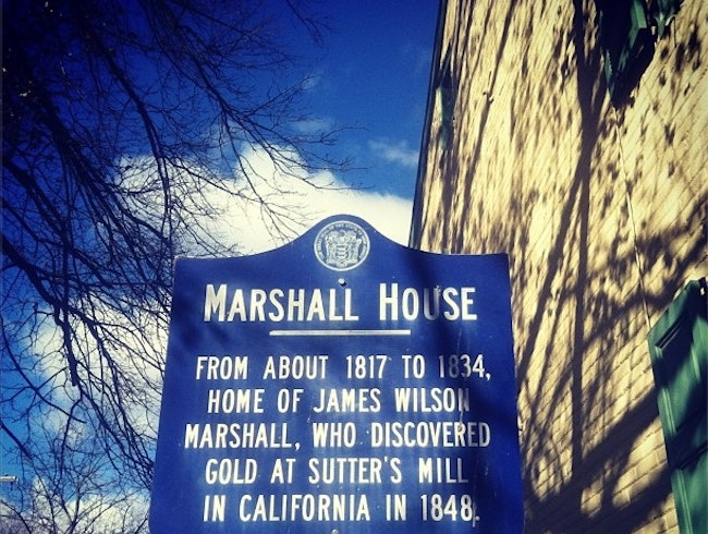 Home of James Marshall (who Started the California Gold Rush)
