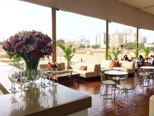 Huaca Pucllana Restaurant in Lima