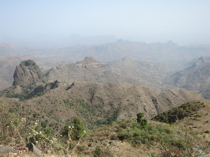 Simien Mountains National Park Gondar  Ethiopia
