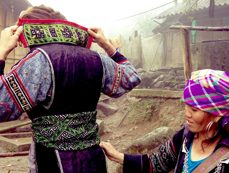 Experience a Homestay with a Black Hmong Family