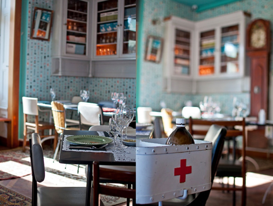 Pharmacia Restaurant, a different dining experience  Lisbon  Portugal