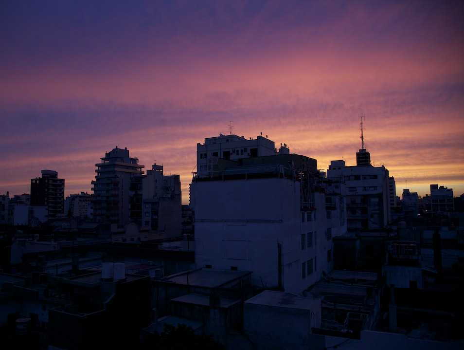 buenos aires sunset Buenos Aires  Argentina