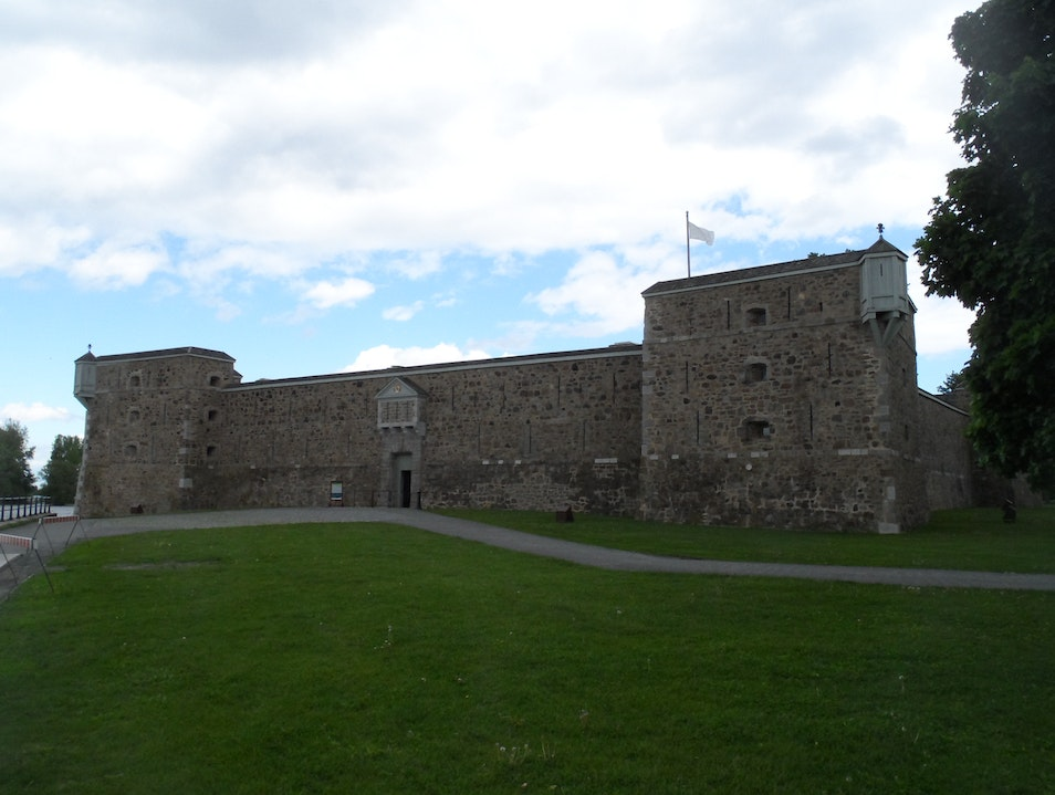 Fort Chambly National Historic Site Chambly  Canada