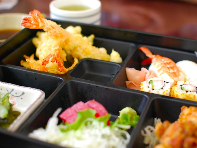 Bento Boxes and Udon at Aji-Ichi Restaurant