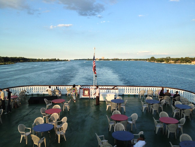 See Detroit via the River on the Historic Detroit Princess