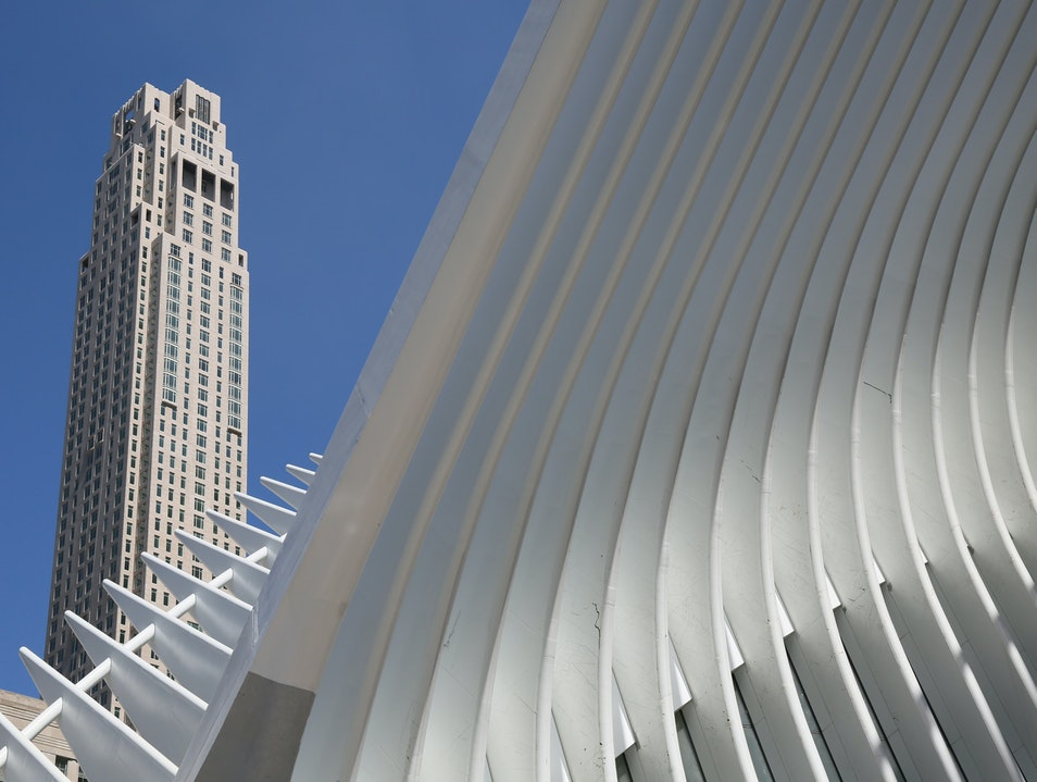 The Revitalized Financial District  New York New York United States