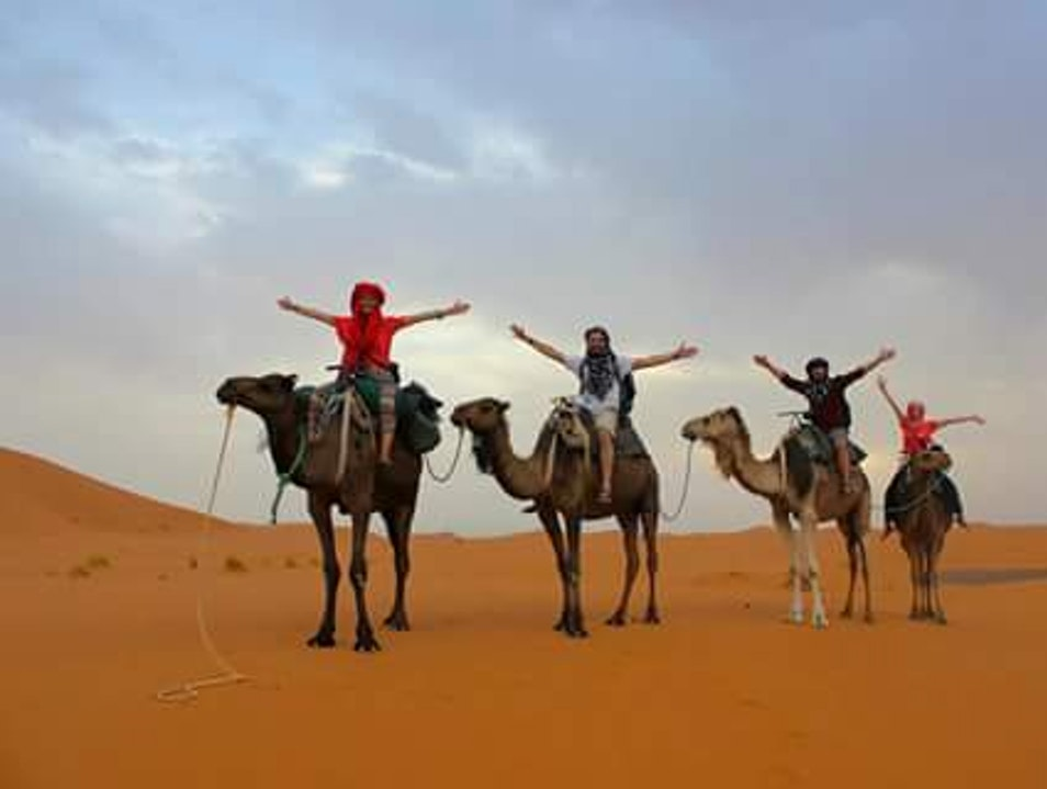 3 Days Tour From Fez To Marrakech Via Merzouga Sahara Desert Trip Ksar Tanamouste  Morocco