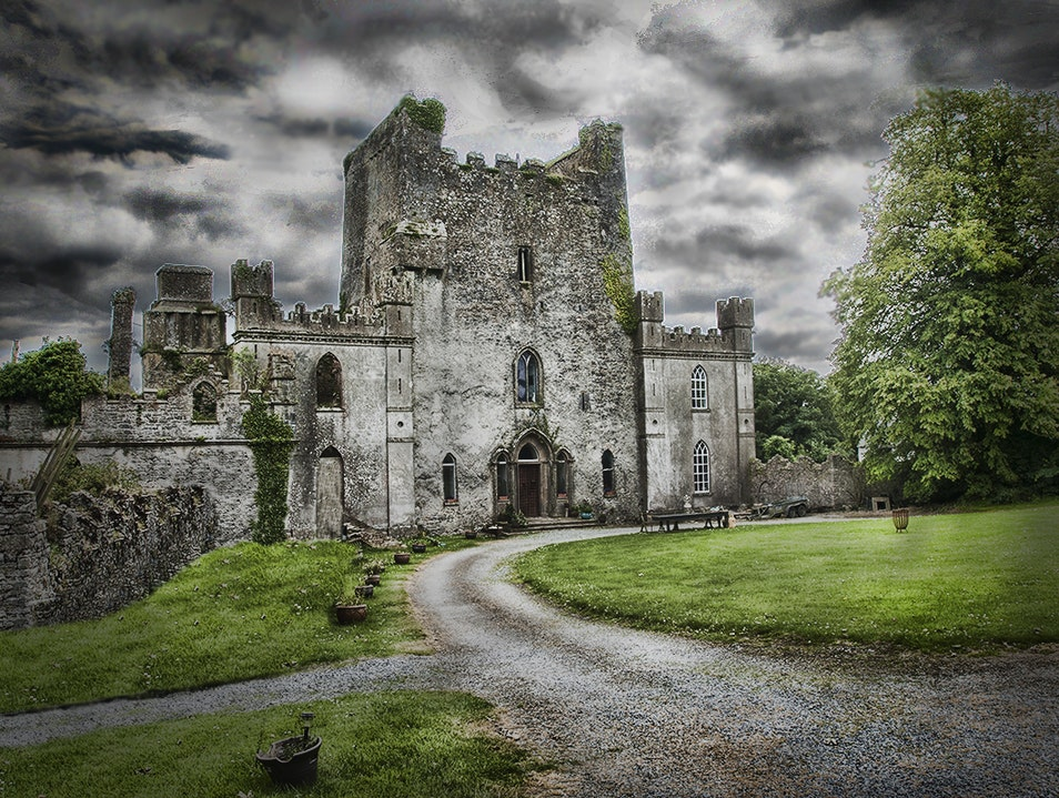 Domain of Elementals: Leap Castle, Offaly Roscrea  Ireland