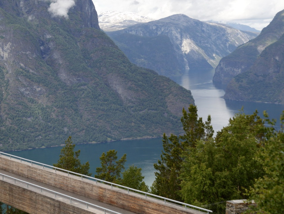 Stegastein Lookout Aurland  Norway