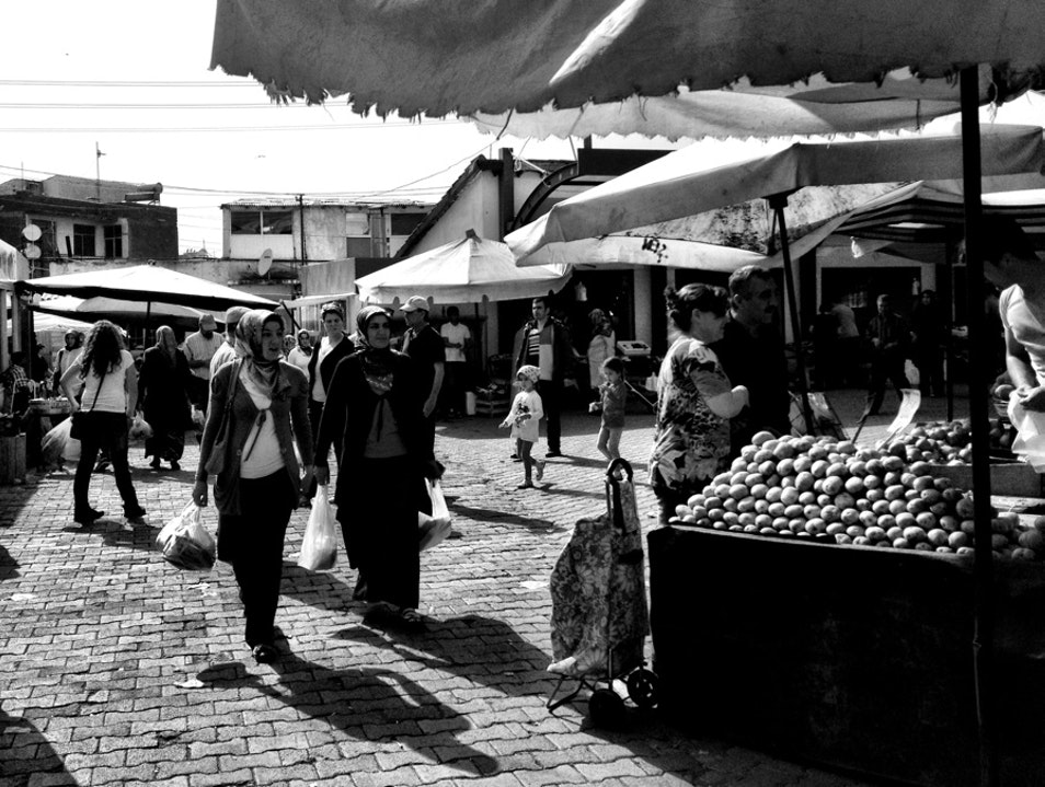 Market Day in Burhaniye Burhaniye  Turkey