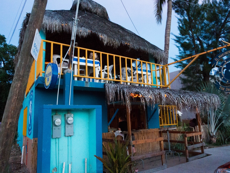Great Seafood in a quiet place La Playa  Mexico
