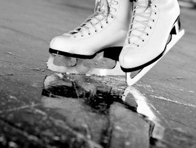 Ice Skating, Even in Summer