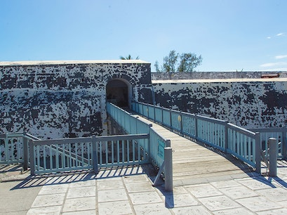Fort Charlotte Nassau  The Bahamas