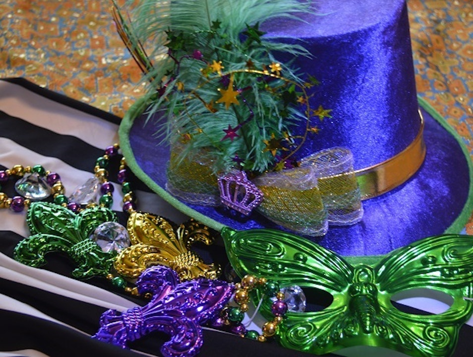 Ride A Float During Mardi Gras In NOLA